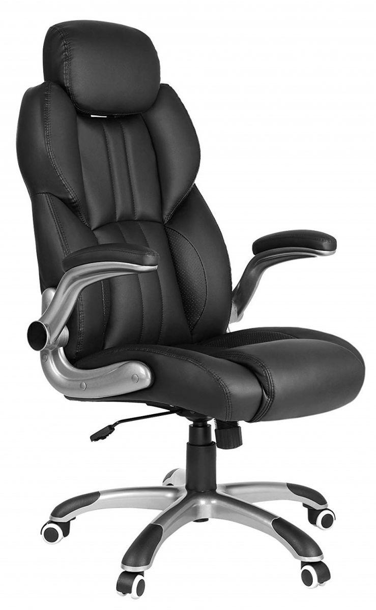 Bureaustoel Met Verstelbare Rugleuning.Luxe Bureaustoel Met Verstelbare Hoofdsteun Podobrace Nl