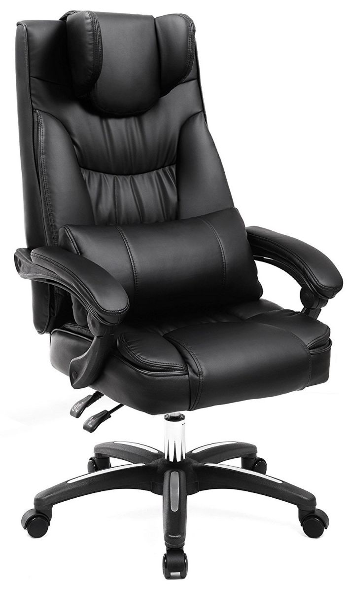 Bureau Stoel Luxe.Luxe Extra Grote Bureaustoel Met Opklapbare Hoofdsteun En