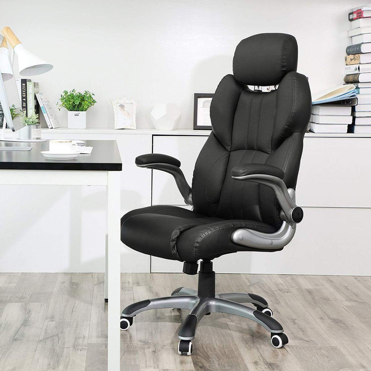 Bureaustoel Met Hoofdsteun.Luxe Bureaustoel Met Verstelbare Hoofdsteun Podobrace Nl