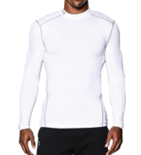 Herenmock Under Armour ColdGear Compressie Shirt lange mouwen heren